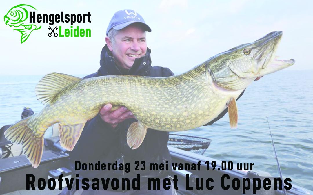 Roofvisavond met Luc Coppens