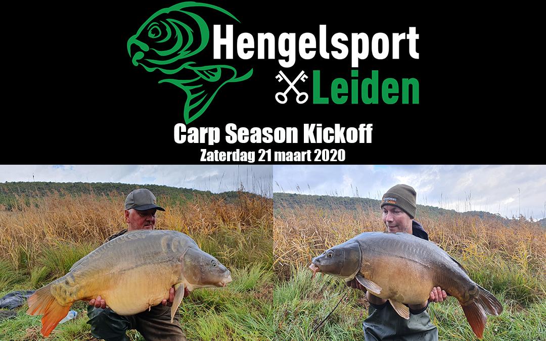 Carp Season Kickoff bij Hengelsport Leiden